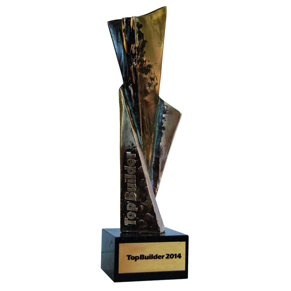 Top Builder 2014 award for the Winergetic Premium Passive window